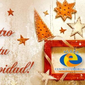 ¡En esta Navidad tu eres el centro!