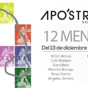 """Inauguración de la sala de arte  Apo'strophe con la exposición """"12 MENINAS"""""""