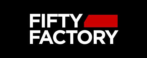 Logo Fifty Factory Plaza Elíptica Centro Comercial de Vigo