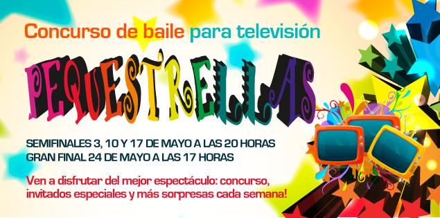 2ª jornada de actuaciones en el concurso de baile para televisión Pequestrellas
