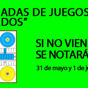 """II Jornadas de Juegos """"De Dados"""""""
