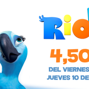 ¡Disfruta de Rio 2 a un precio irrepetible!