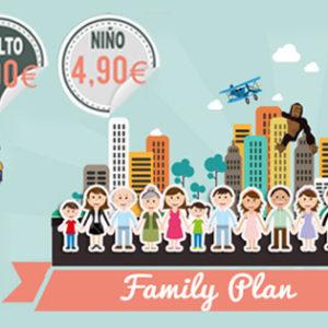 Family Plan, descuentos para tus entradas de cine en familia!