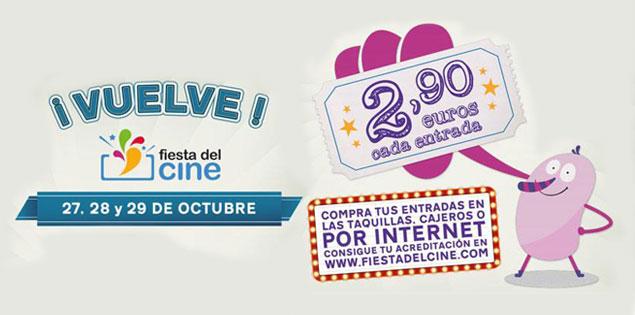 Vuelve la Fiesta del Cine, tus entradas por 2,90€