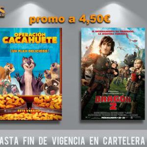 En nuestros cines, todo el cine familiar por mucho menos