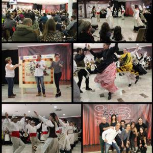 El ritmo del Grupo Folklórico Corisco en el Kafetín Musical