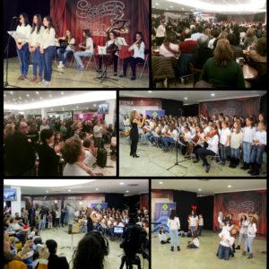 El Coro de las Carmelitas llena el primer Kafetín Musical especial Navidad