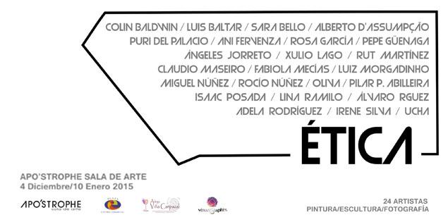 Ética, la nueva exposición de Apo'strophe Sala de Arte