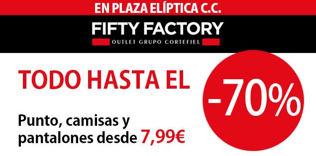 ¡Descuentos de vértigo en Fifty Factory!