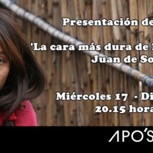 """Presentación del libro """"La cara más dura de la esperanza"""" en Apo'strophe Sala de Arte"""
