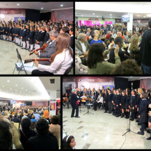 Punto y seguido a la Navidad con el Coro Colegio Compañía de María de Vigo