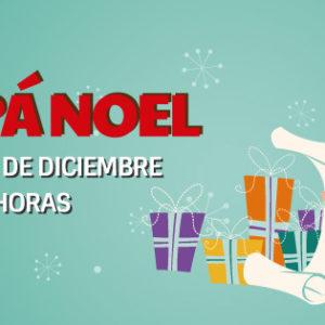 ¡Papá Noel visita Plaza Elíptica Centro Comercial!