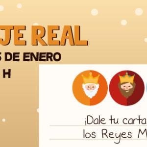 ¡El Paje Real viene a recoger tus cartas para los Reyes Magos!