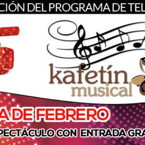 No te pierdas la agenda de Febrero del Kafetín Musical