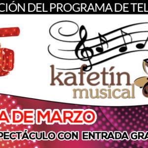La agenda de marzo del Kafetín Musical
