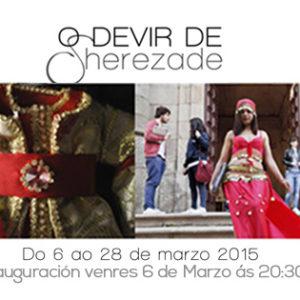 """""""O devir de Sherezade"""" en Apo'strophe Sala de Arte"""