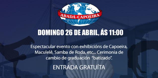 Evento de Capoeira, Maculelê y Samba en Plaza Elíptica