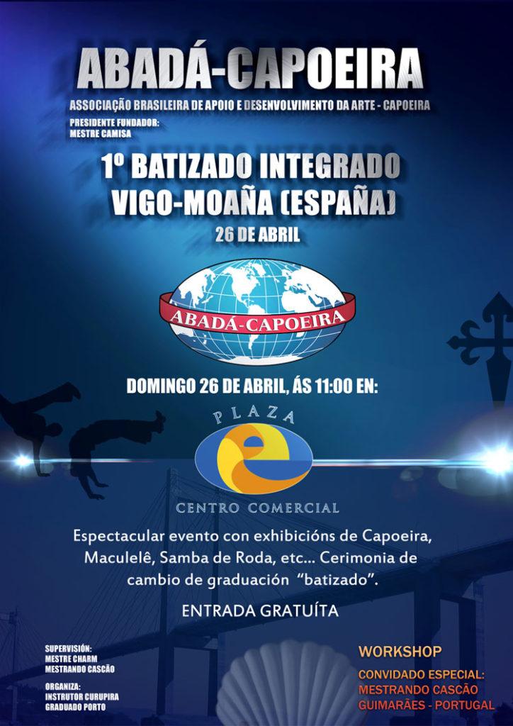 Evento Capoeira e Plaza Elíptica 26 de abril de 2015 a las 11h