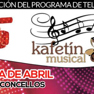 La agenda de abril del Kafetín Musical