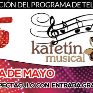 La agenda de mayo del Kafetín Musical