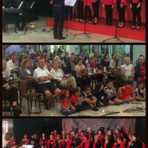 Noche de coros en el Kafetín del pasado viernes