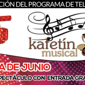 La agenda de Junio del Kafetín Musical