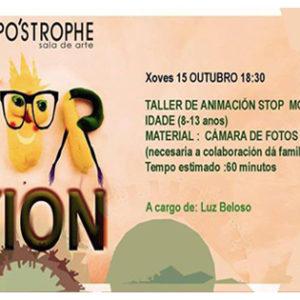 TALLER DE ANIMACIÓN STOP MOTION PARA NIÑ@S