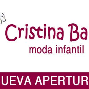 Cristina Baby, nueva tienda infantil