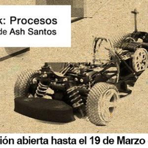 Exposición ASH SANTOS en Apo'strophe Sala de Arte