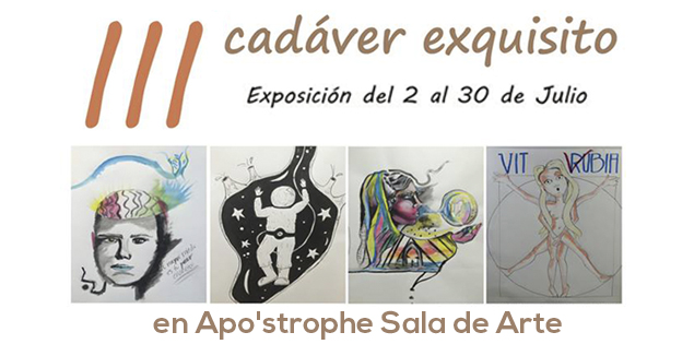 ¡Participa en la tercera edición de Cadáver Exquisito!