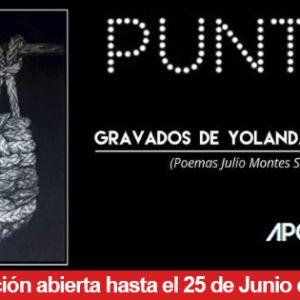 Exposición PUNTOS de Yolanda Carbajales en Apo'strophe
