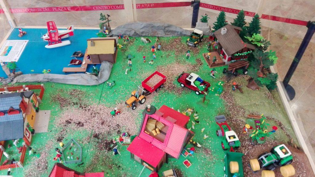 Playmobil vida en el campo