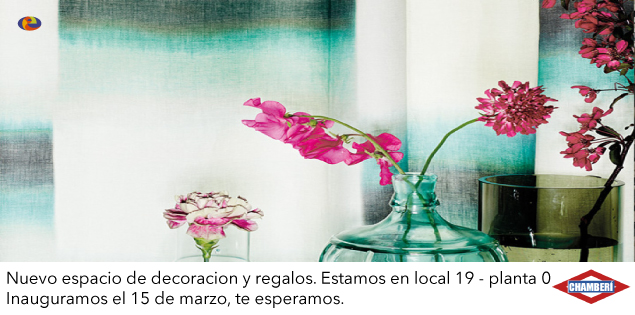 Inauguramos Chamberí, nuestro espacio de decoración y regalos.
