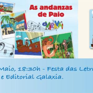 Festa das Letras Galegas con Editorial Galaxia e Oviravai.