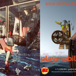 Los Playmobil vuelven a invadir Plaza Eliptica.