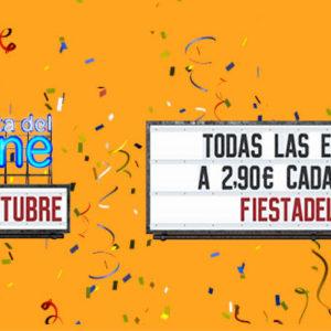 FIESTA DEL CINE 2018, en cines Plaza Eliptica.!! Tú peli por 2,90€ del 1 al 3 de octubre.