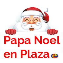 Papa Noel, en Plazae.
