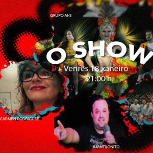"""Qué tiemble """"La Voz"""" gran estreno, de actuaciones en directo. O show, en Plaza Elíptica."""