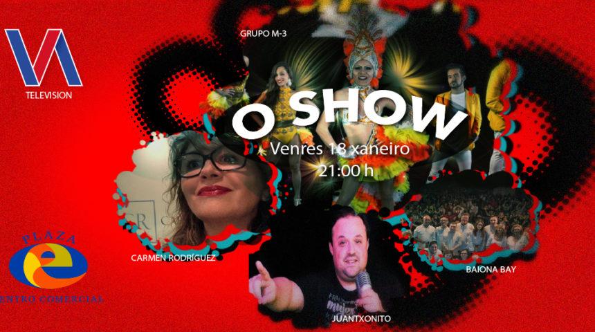 Qué tiemble «La Voz» gran estreno, de actuaciones en directo. O show, en Plaza Elíptica.