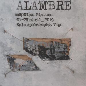 Alas de alambre de Sonia Garcia en Apostrophe Sala de Arte