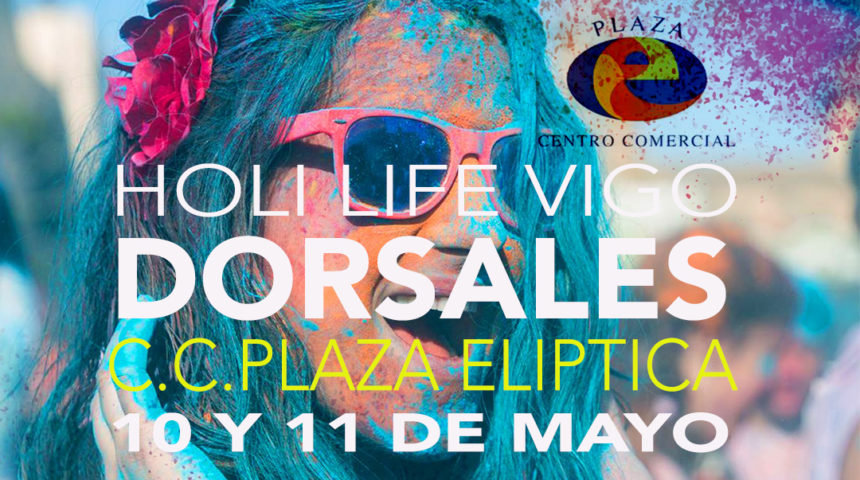Holi Life Vigo: venta y recogida de dorsales en Plaza Elíptica