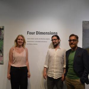 Así es Four Dimensions, en Apostrophe.arte